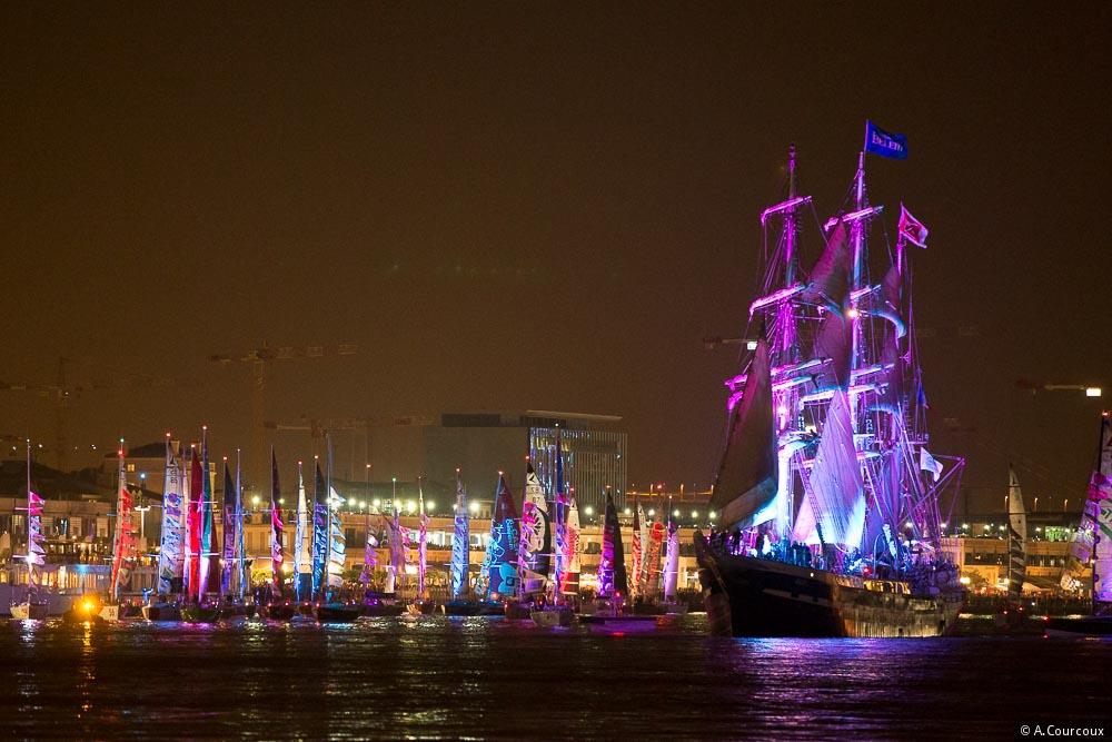 Les Skippers arrivent à Bordeaux !