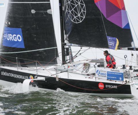 Solitaire Urgo-Le Figaro : première étape c'est parti !!
