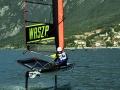 Lac de Garde , foiling week régattes de WASZP